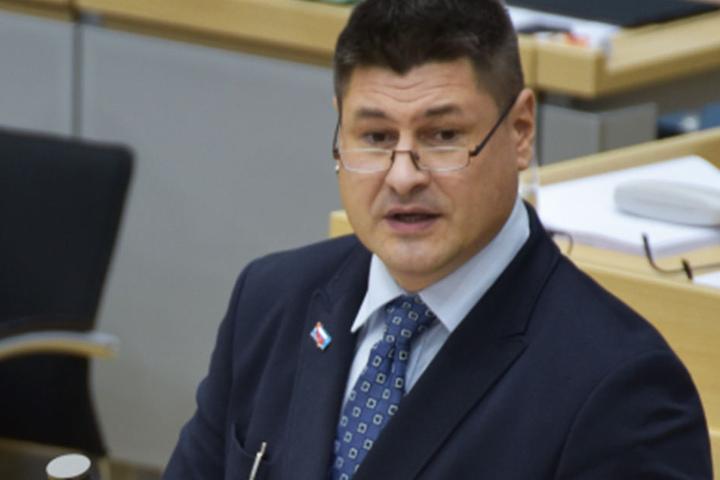 Mario Lehmann (48) hatte in der Landtagssitzung mit seiner Rede für Ärger gesorgt.