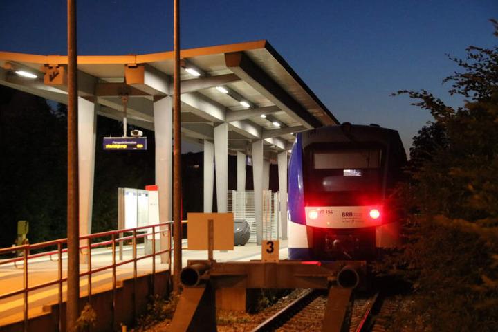 Am Bahnhof Füssen wurde möglicherweise auf einen Zug geschossen.