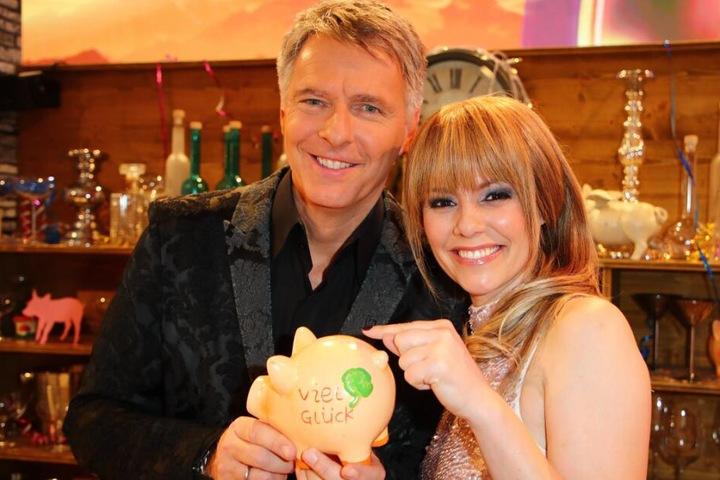 Der 54-Jährige moderiert zusammen mit der Schweizer Sängerin Francine Jordi die Silvestershow in der Stadthalle.