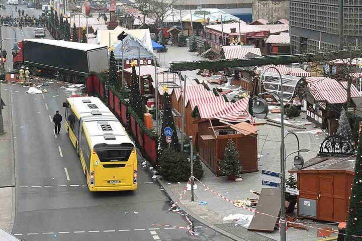 Der Terroranschlag auf den Berliner Weihnachtsmarkt im Dezember 2016 kostete elf Menschen das Leben.