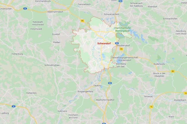 Im Landkreis Schwandorf ist es in Bayern zu einer Verfolgungsjagd gekommen.