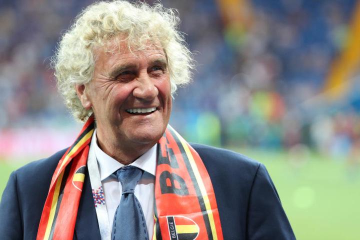 """""""Du darfst als Torwart den Ball nie aus den Augen lassen"""", sagt Jean-Marie Pfaff."""
