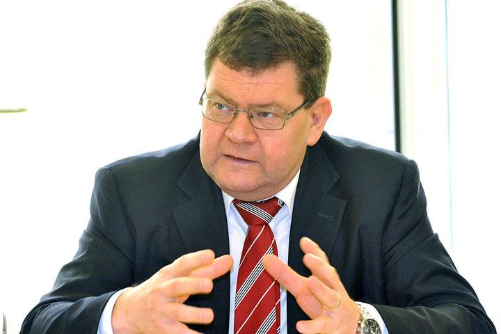 Sportbürgermeister Philipp Rochold (54, parteilos).