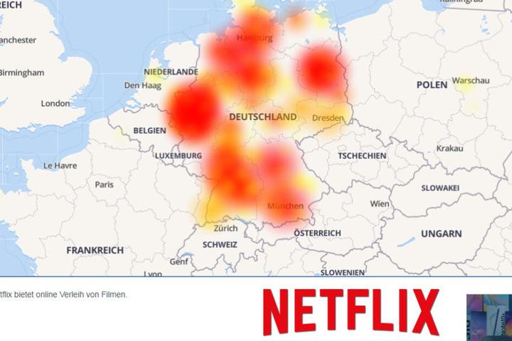 Auch Netflix-User schauen in die Röhre.
