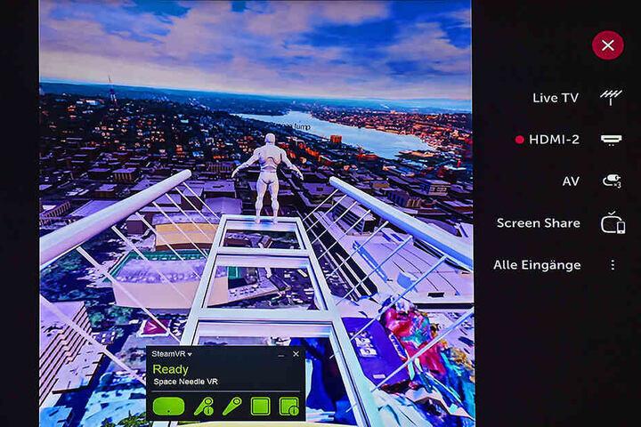 Abtauchen in fremde Welten: Das Spiel simuliert auch Flüge durch andere  Welten oder riesige Städte wie New York.
