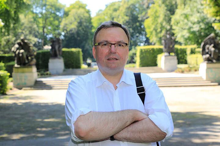 Dr. Alexander Haentjens (48, CDU) sieht die Konstruktion für die neue Kita in Altendorf kritisch.