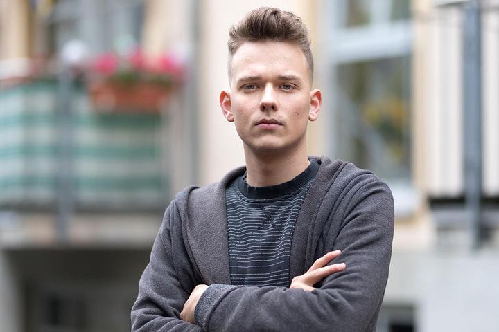 """Max Gebhardt (19) ist stinksauer: """"Ich kann echt nicht glauben, dass meine Simson schon wieder geklaut wurde."""""""