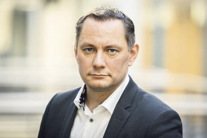 Seit kurzem AfD-Bundes-Chef: Tino Chrupalla (44).