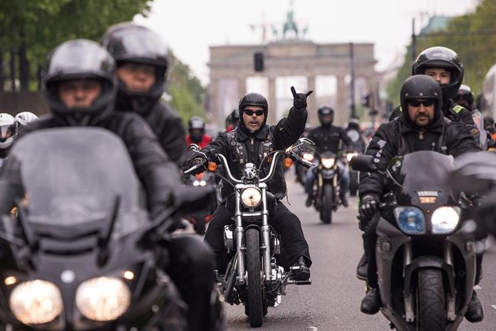 Tausende Motorradfahrer setzten in Berlin ein Zeichen gegen Gewalt.
