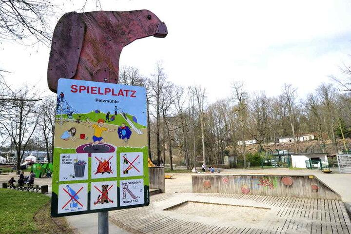 Der Spielplatz am Tierpark verfällt. Geld für eine Sanierung ist im aktuellen Haushalt nicht vorgesehen.