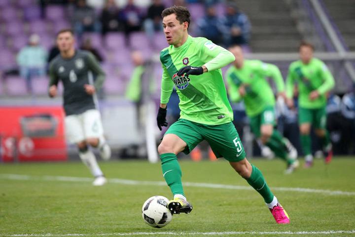 Torschütze des 1:0 war Clemens Fandrich.