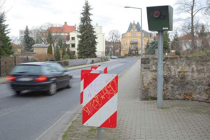 Schärfere Bilder, wie hier an der Maxim-Gorki-Straße, sorgten für erhebliche Mehreinnahmen.