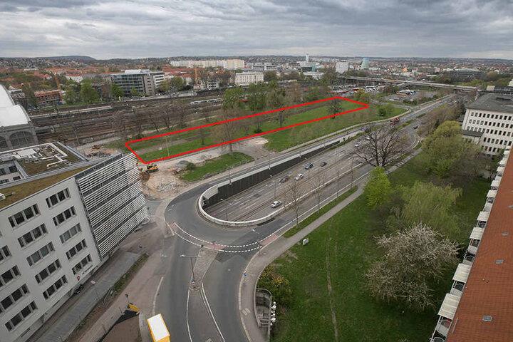 Künftig soll auf der nordwestlichen Seite des Hauptbahnhofs eine moderne Fernbus-Station gebaut werden.