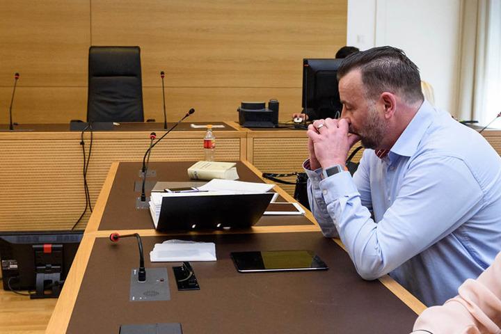 Lutz Bachmann ist häufiger zu Gast vor Gericht (hier im April 2016). Beim aktuellen Prozess war er nicht anwesend.