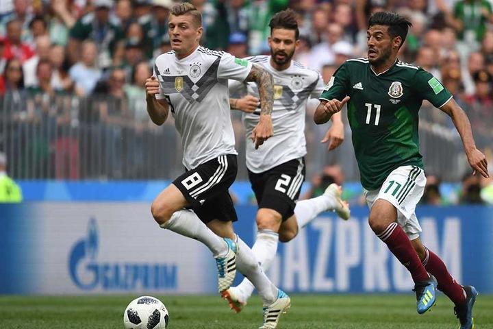 Kroos wurde von den Mexikanern in Manndeckung genommen, dadurch fehlte den deutschen Spiel jede Struktur und Ordnung.