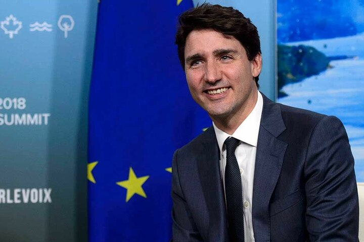 Kanadas Premierminister Justin Trudeau legalisierte jetzt Cannabis in seinem Land.