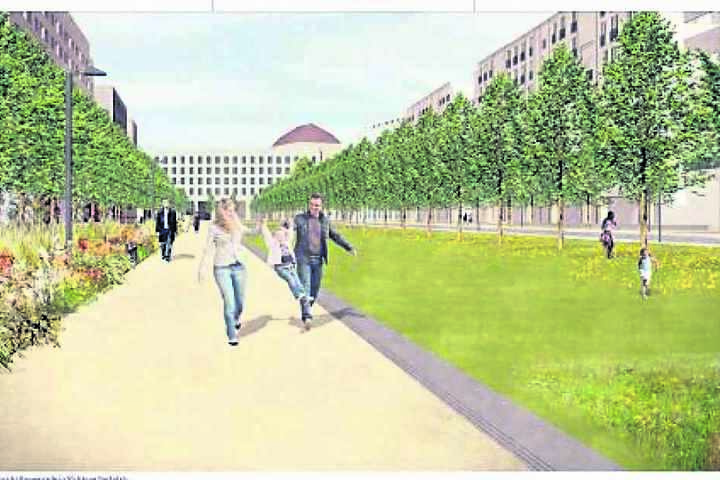 Grüner Boulevard: So schön soll die Marienstraße werden.