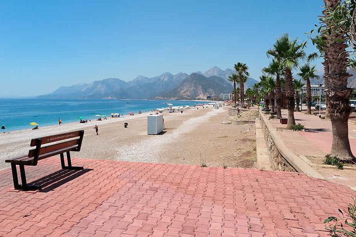 Keine Seltenheit mehr in der Türkei: Ein relativ leerer Strand. (Symbolbild)