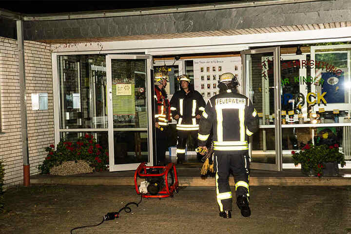 Die Ursache war relativ schnell klar: Es war Brandstiftung.