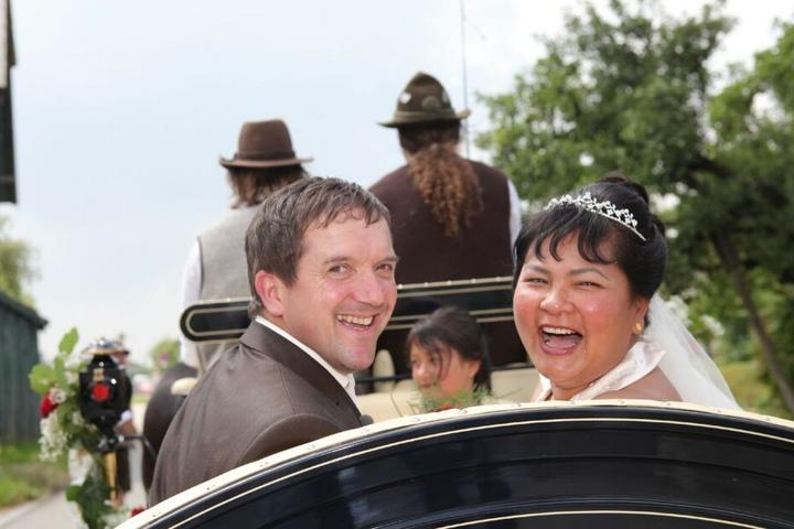 Das absolute Kult-Paar: Josef und Narumol aus der Staffel 2010.