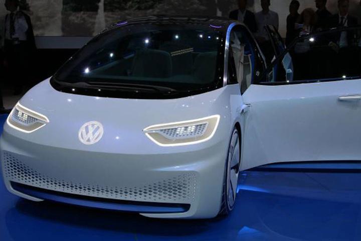 So ähnlich wie die VW-Studie I.D. könnte das Auto aussehen, das ab 2019 in  Zwickau produziert werden soll.
