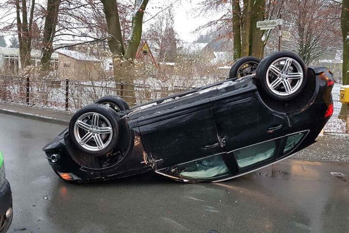 An der Ecke Nohlsraße/Gaudigstraße kam es zum Unfall.