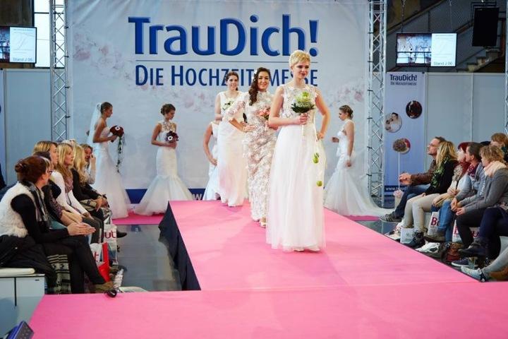 """Auf der Hochzeitsmesse """"Trau Dich!"""" in Stuttgart, können sich künftige Brautpaare viele Anregungen und Ideen für ihre Feier holen."""