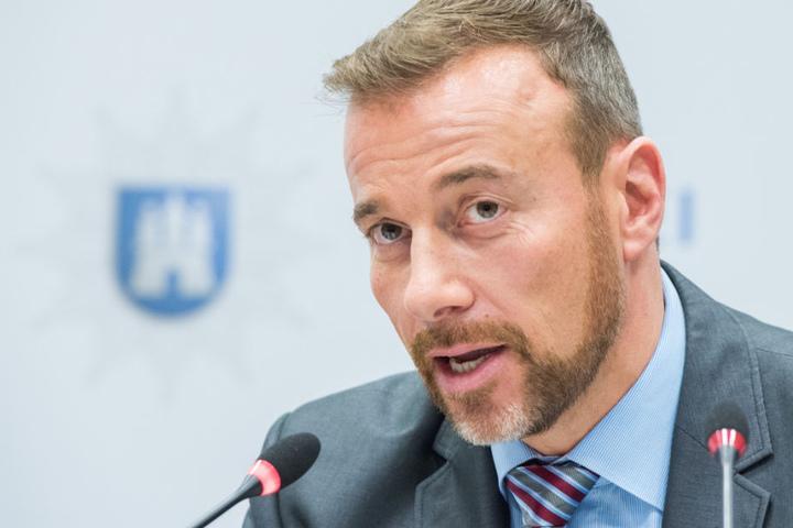 """Jan Hieber, Leiter der Sonderkommission """"Schwarzer Block""""."""