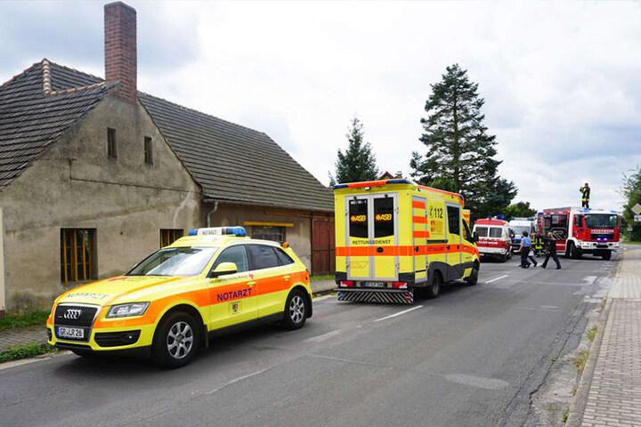 Die 81-Jährige wurde bei dem Unfall schwer verletzt.