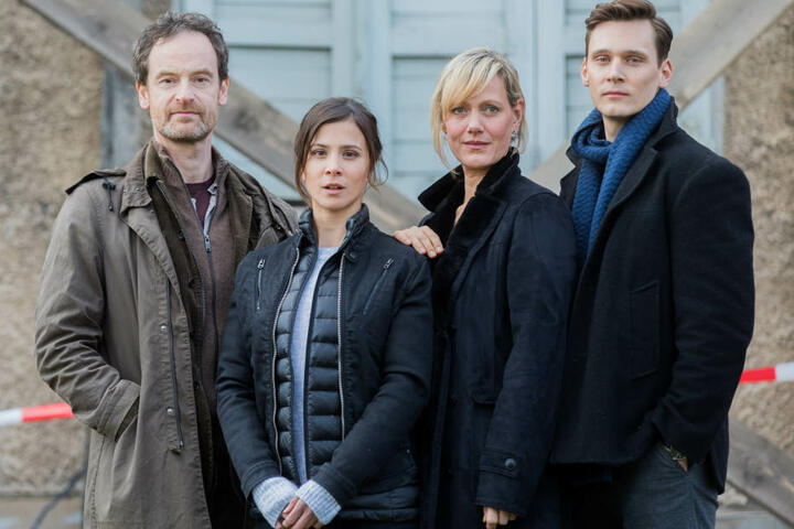 Das aktuelle Ermittler-Team des Dortmunder Tatorts um Anna Schudt (2. v.r.)