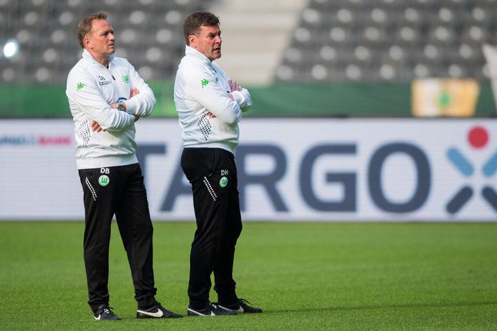 Bei seinen bisherigen Stationen arbeitete Dieter Hecking (rechts) stets mit Dirk Bremser zusammen.