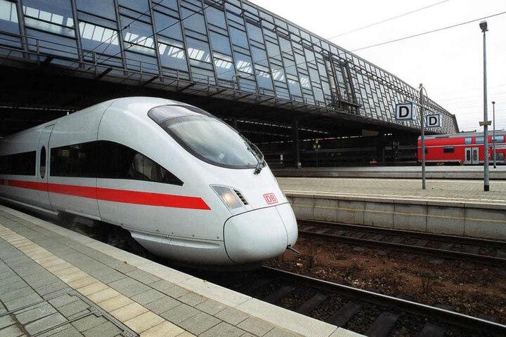 Nach dem Streckenausbau sollen Fernzüge zwischen Chemnitz und Leipzig fahren.
