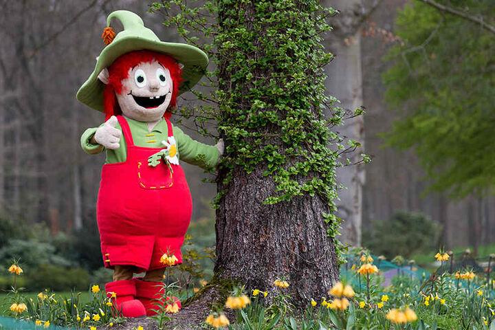 """Das Maskottchen der diesjährigen Landesgartenschau heißt """"Lippolino""""."""