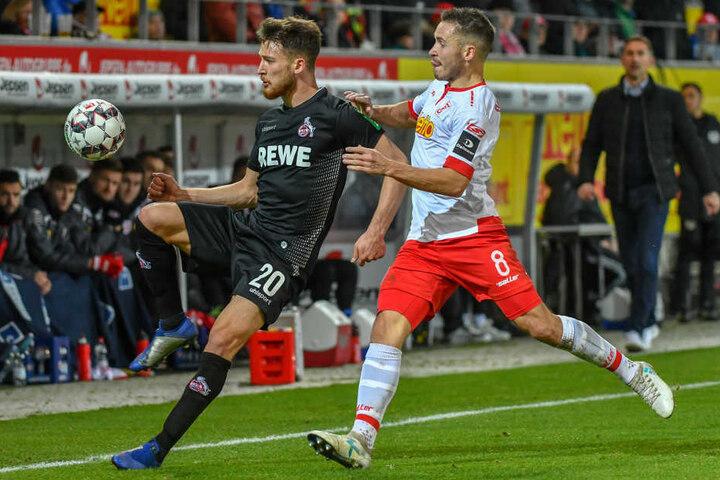 Beim Sieg in Regensburg am 7. Dezember zeigte Salih Özcan eine eher durchwachsene Leistung.