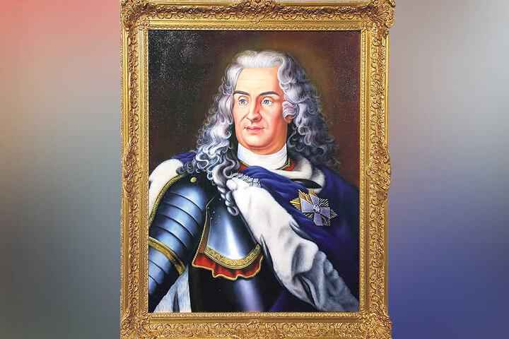 August der Starke - Kurfürst von Sachsen, König von Polen (1670-1733).