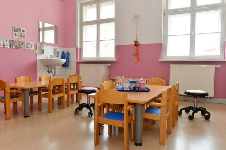 Die integrative Kindertagesstätte der AWO in Pirna.