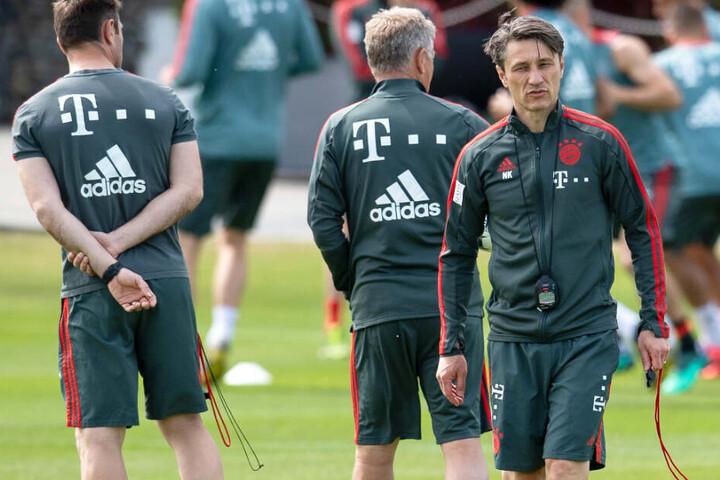 Sommerfahrplan des FC Bayern München: Niko Kovac und sein Team wollen überzeugen.