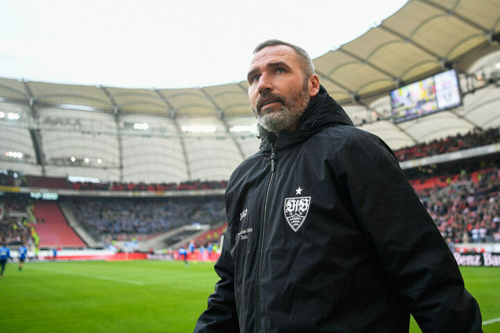Von Tim Walter hatte sich der VfB am gestrigen Montag getrennt.