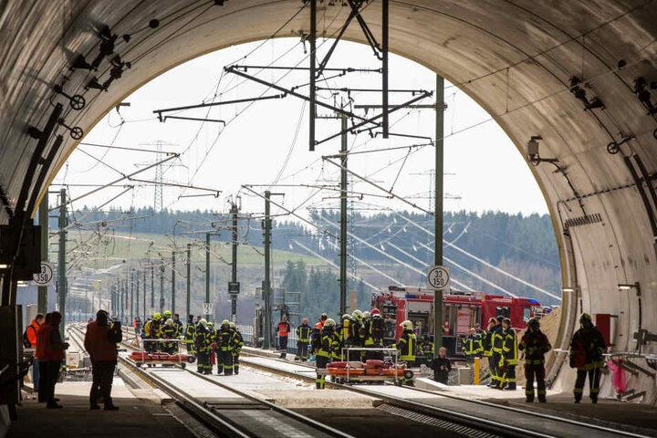Der Tunnel Baumleite gehört zur neuen ICE-Strecke durch den Thüringer Wald.