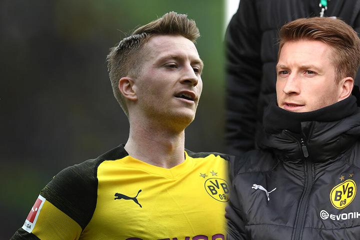 Wenn Marco Reus auf dem Platz steht, tut das Borussia Dortmund meist gut. Gegen Werder Bremen nahm er auf der Ersatzbank Platz, obwohl er das gar nicht gedurft hätte.