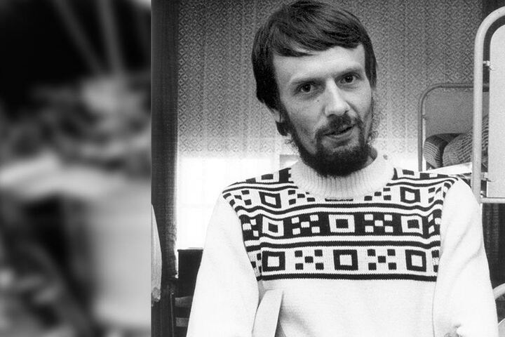 Peter Strelzyk nach seiner Flucht nach Westdeutschland.