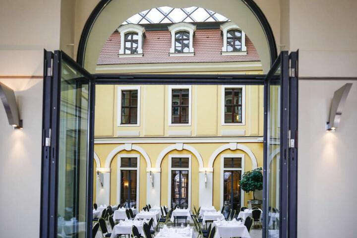 Das Bellevue ist das größte Hotel Dresdens.