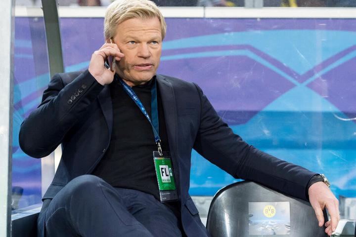 Oliver Kahn könnte beim FC Bayern die Nachfolge von Karl-Heinz Rummenigge antreten.