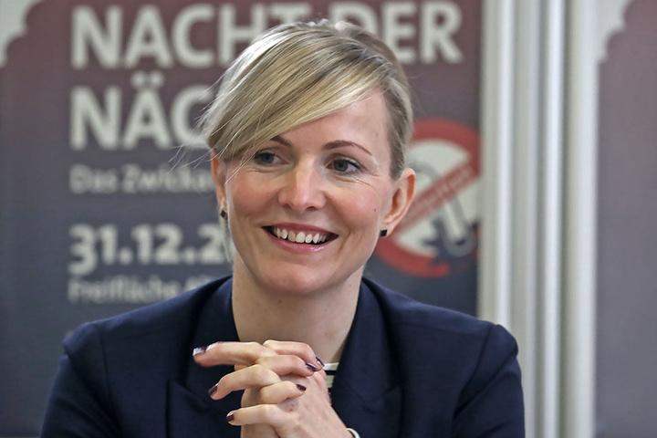 Monique Riemenschneider (40), PR- und Marketing-Chefin der Kultour Z, freut sich riesig über die Verpflichtung von Ex-Beatle Ringo Starr.