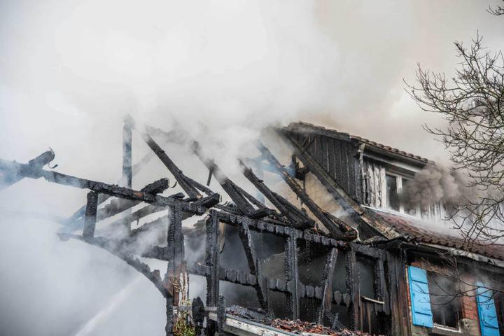 Menschen wurden bei dem Brand nicht verletzt.