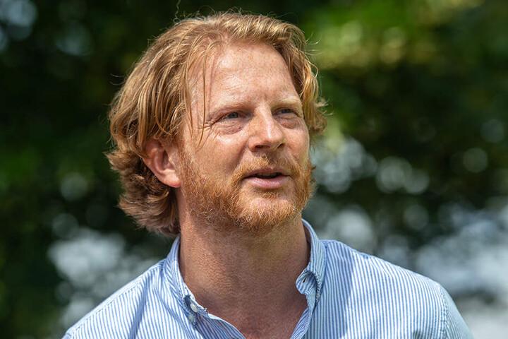 Bürgermeister Michael Stötzer (46, Grüne) lässt einen Rettungsplan für das junge Stadtgrün erarbeiten.