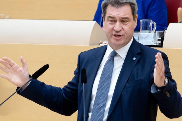 Deutliche Worte: Markus Söder lehnt die neuen Pläne der SPD zur Grundrente in Deutschland ab.