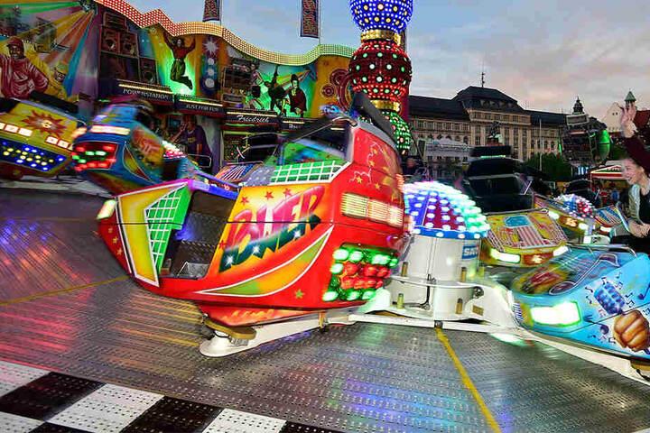Ein Rummel auf dem Hartmannplatz gehört zum Bürgerfest.