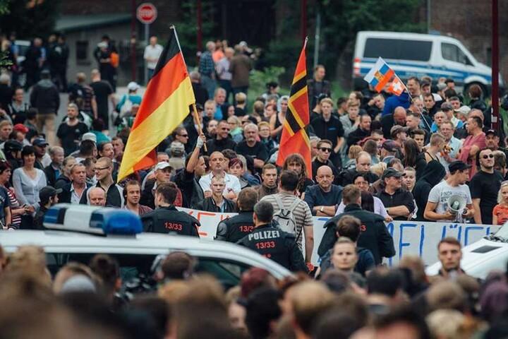 Gegen die Eröffnung eines Asylheims in Freital gab es 2015 heftige Proteste.