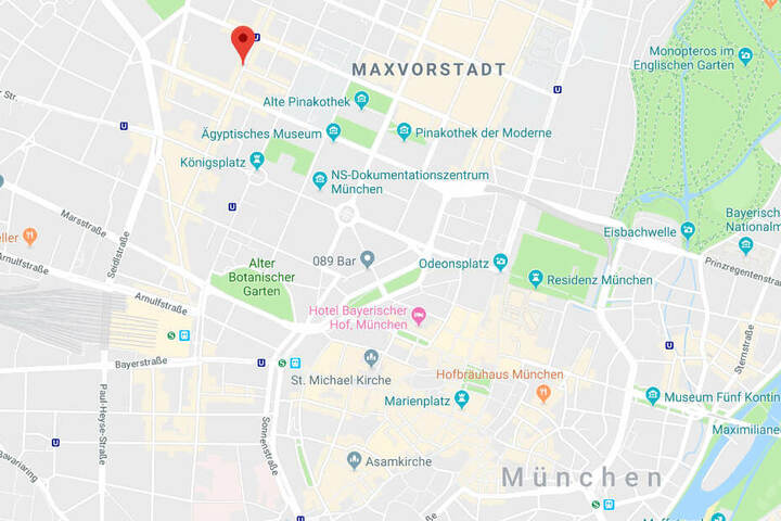In der Maxvorstadt in München ist es zu einem kuriosen Zwischenfall gekommen.